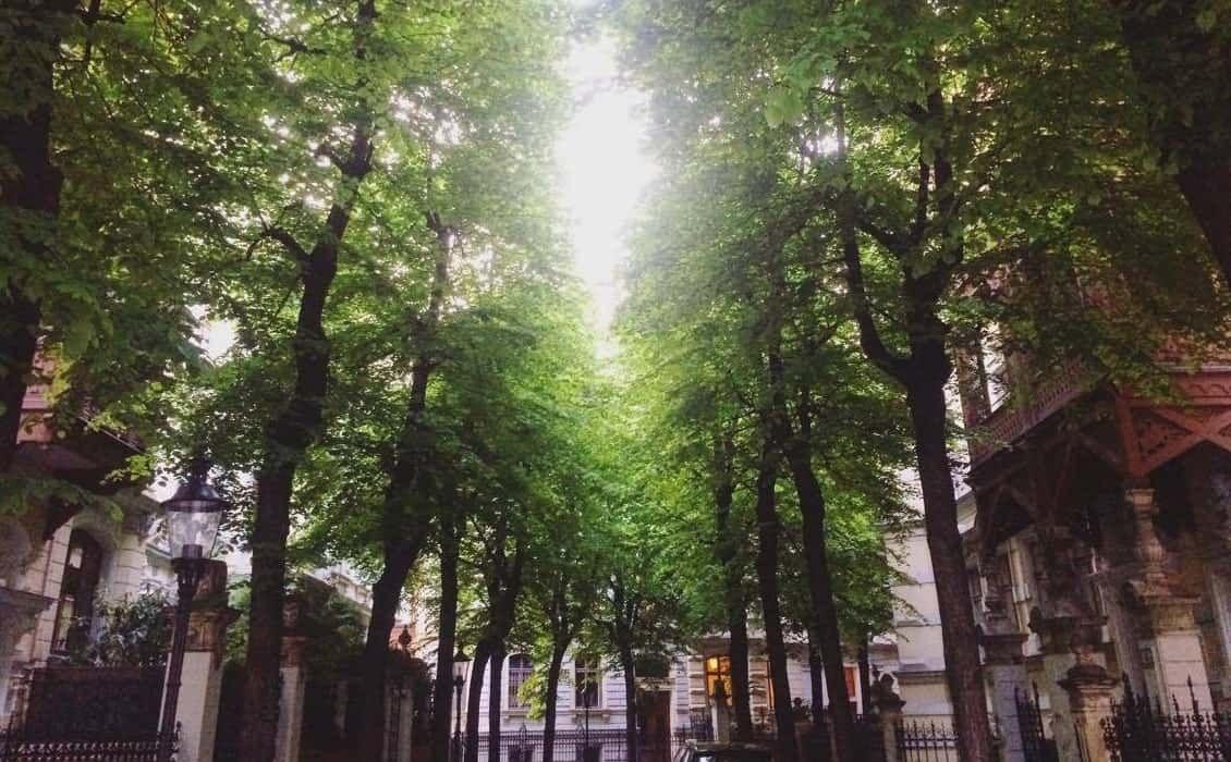 Margartenhof - Innenhoefe in Wien