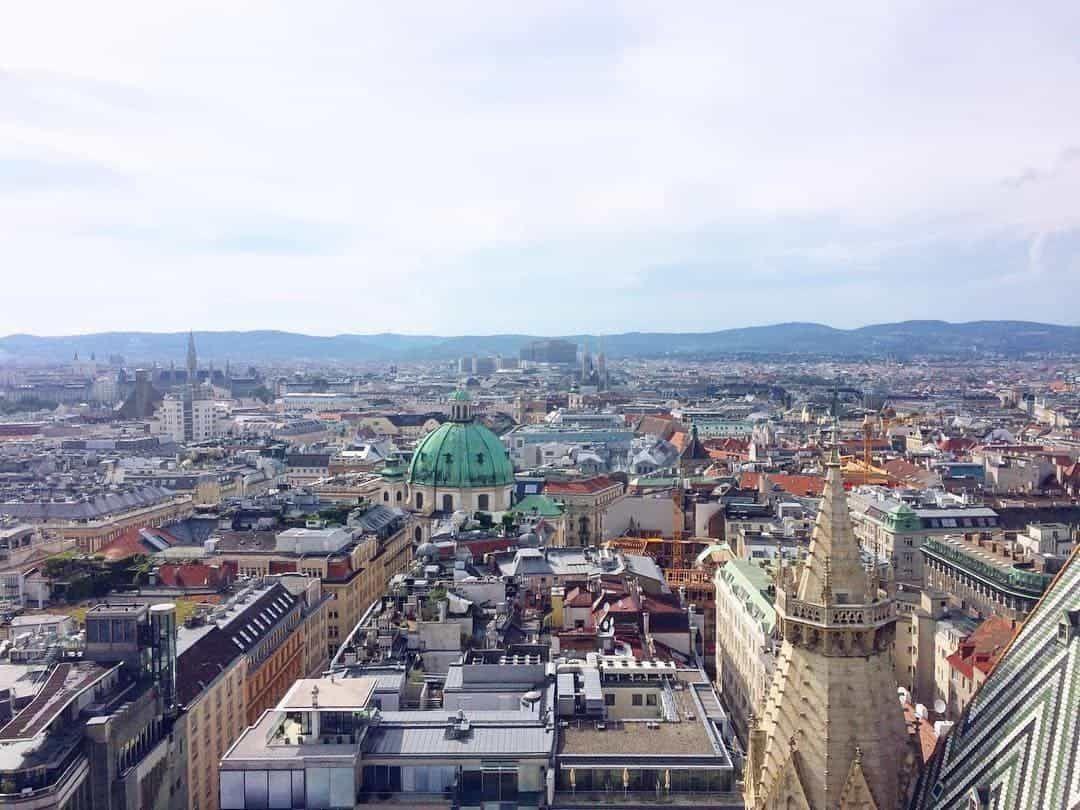 Aussichtspunkte Wien - Stephansdom