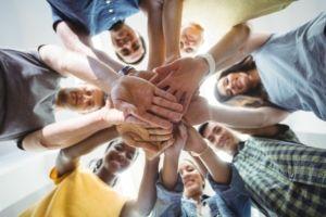Bewegung und Sport stärkt auch den Zusammenhalt im Team