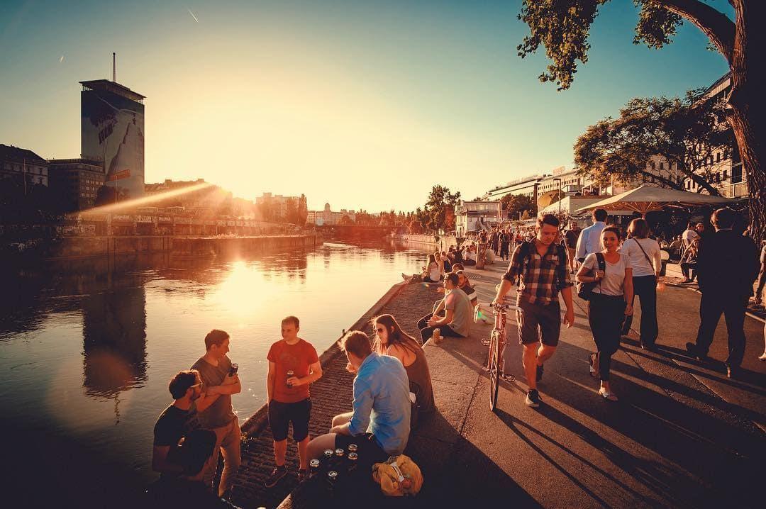 Donaukanal-august in wien