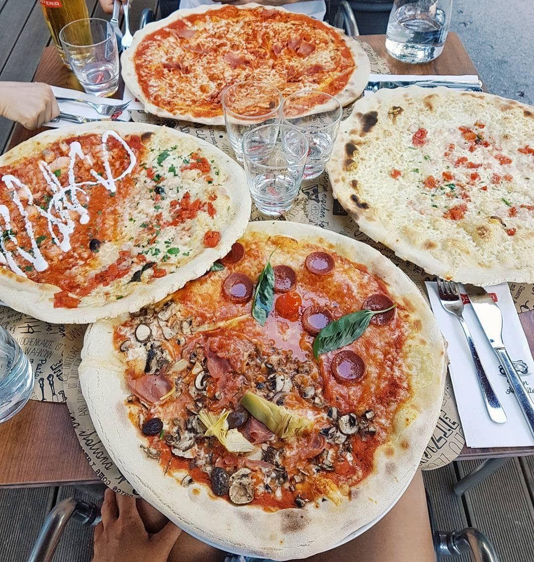 Pizza in Wien