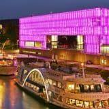 Schiffe+vor+dem+Lentos+Kunstmuseum