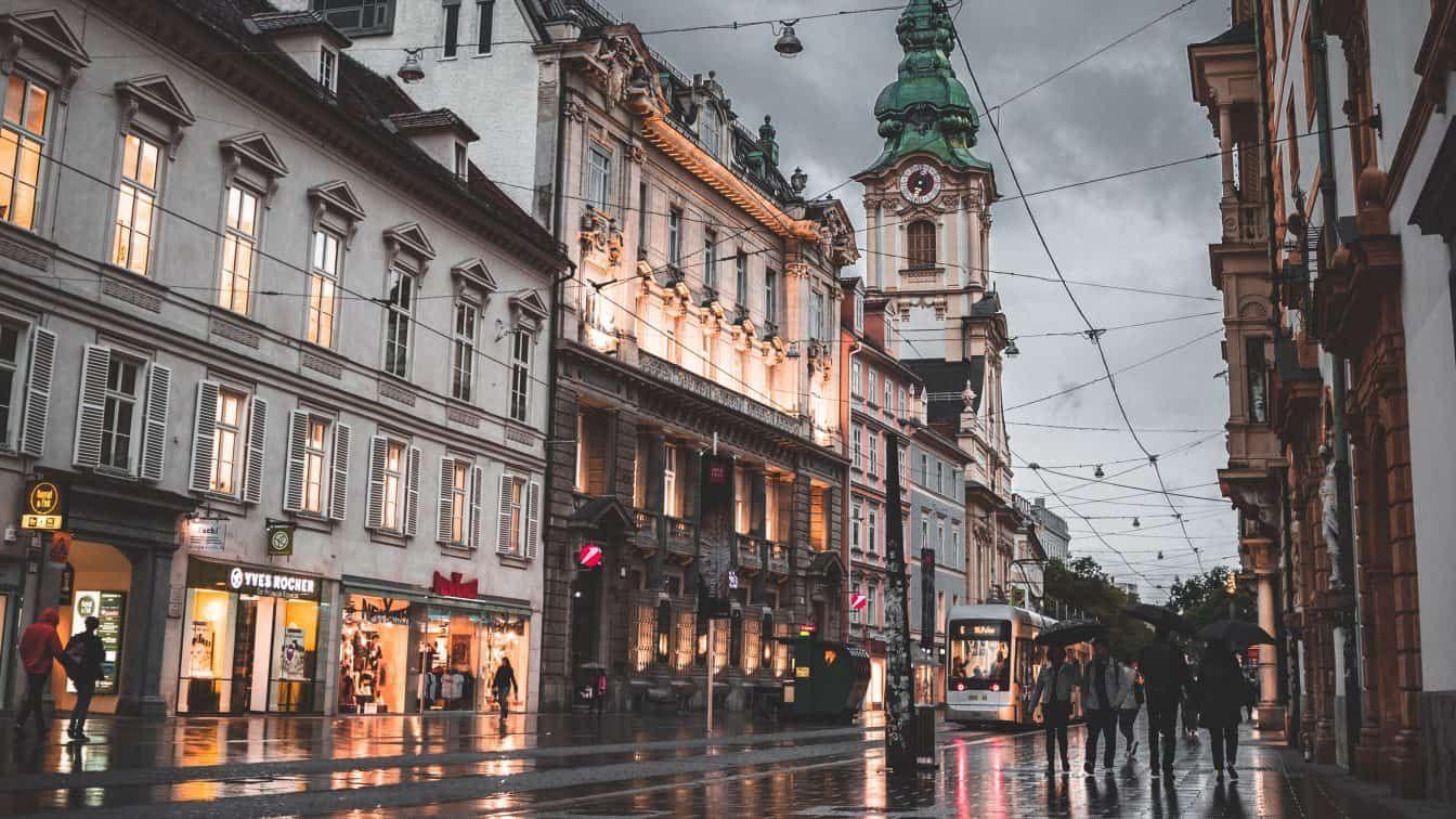 Schlechtwetter Graz