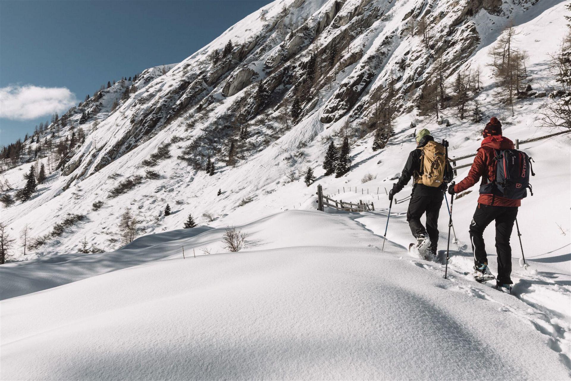 Osttirol Schneeschuhwandern