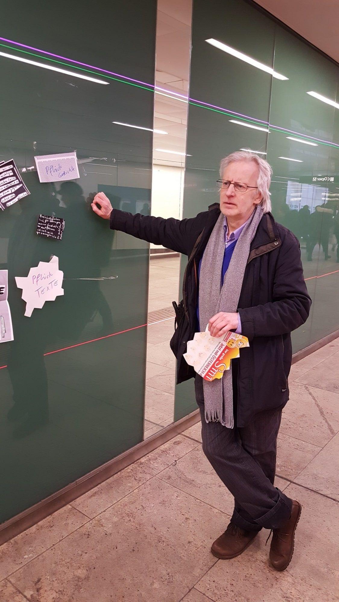 Zettelpoet: Helmut Seethaler