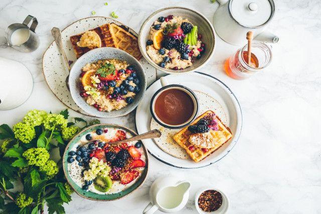 vegan und vegetarisch fruehstuecken in Wien