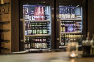 Viele verschiedene Sorten Bier im Zündwerk