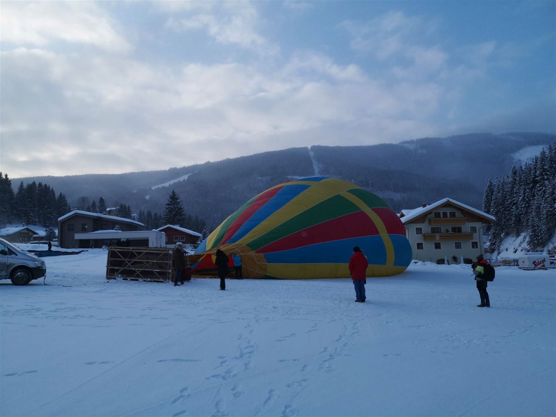 Heißluftballon Filzmoos