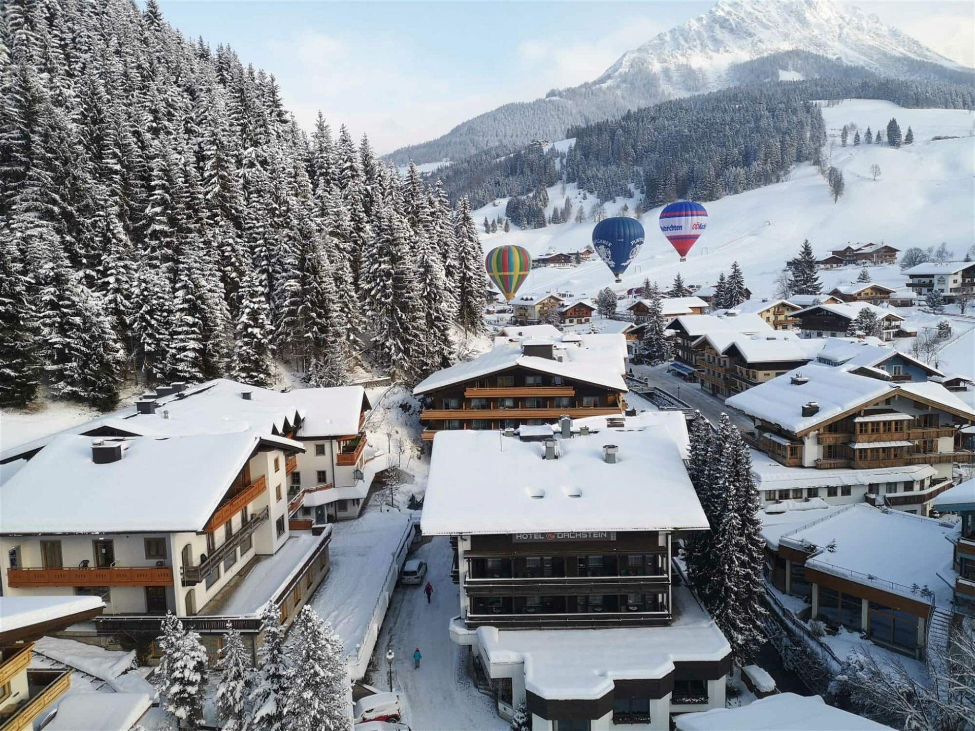 Heißluftballonfahrt Österreich