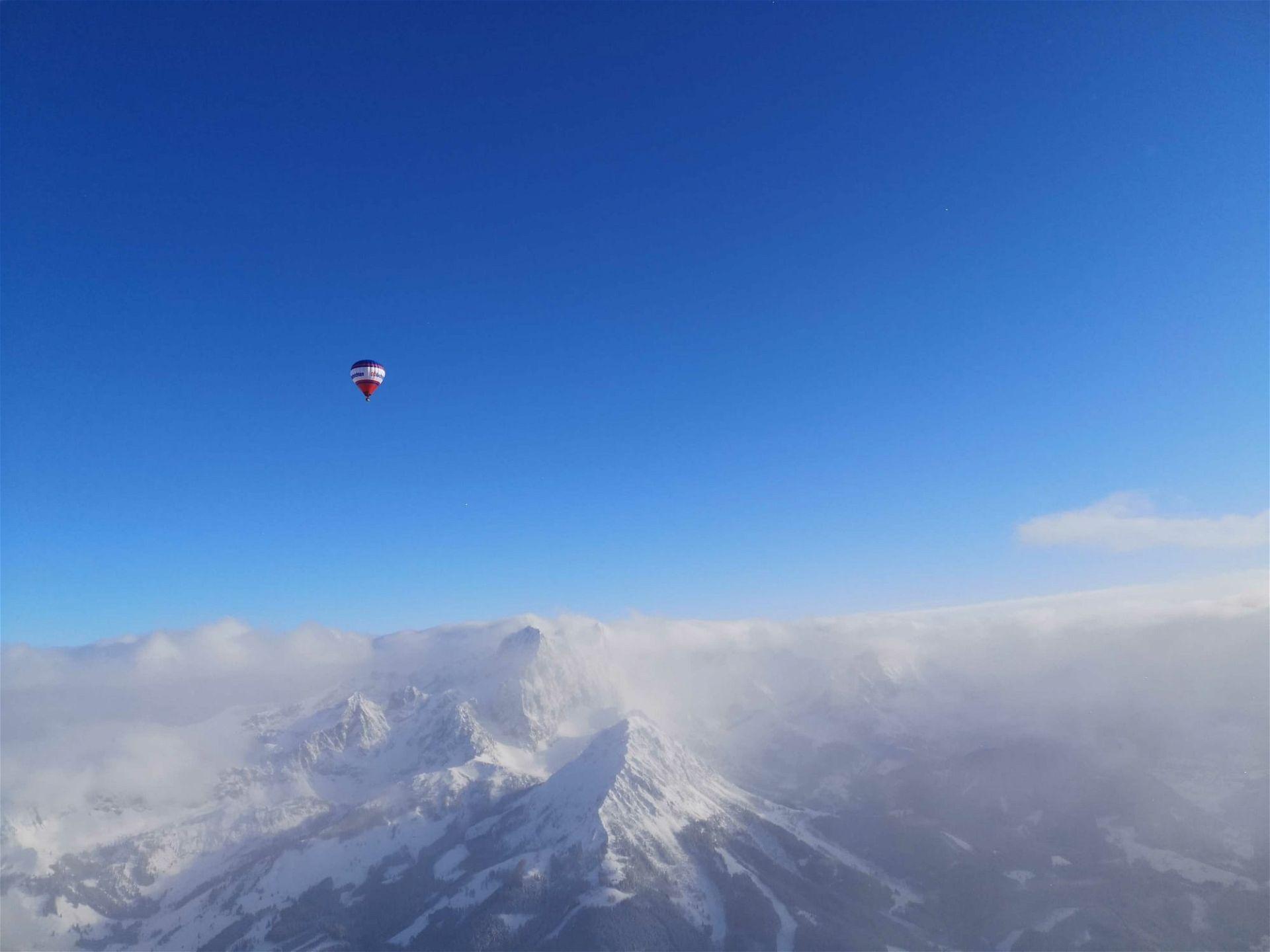 Heißluftballon Fahren Filzmoos