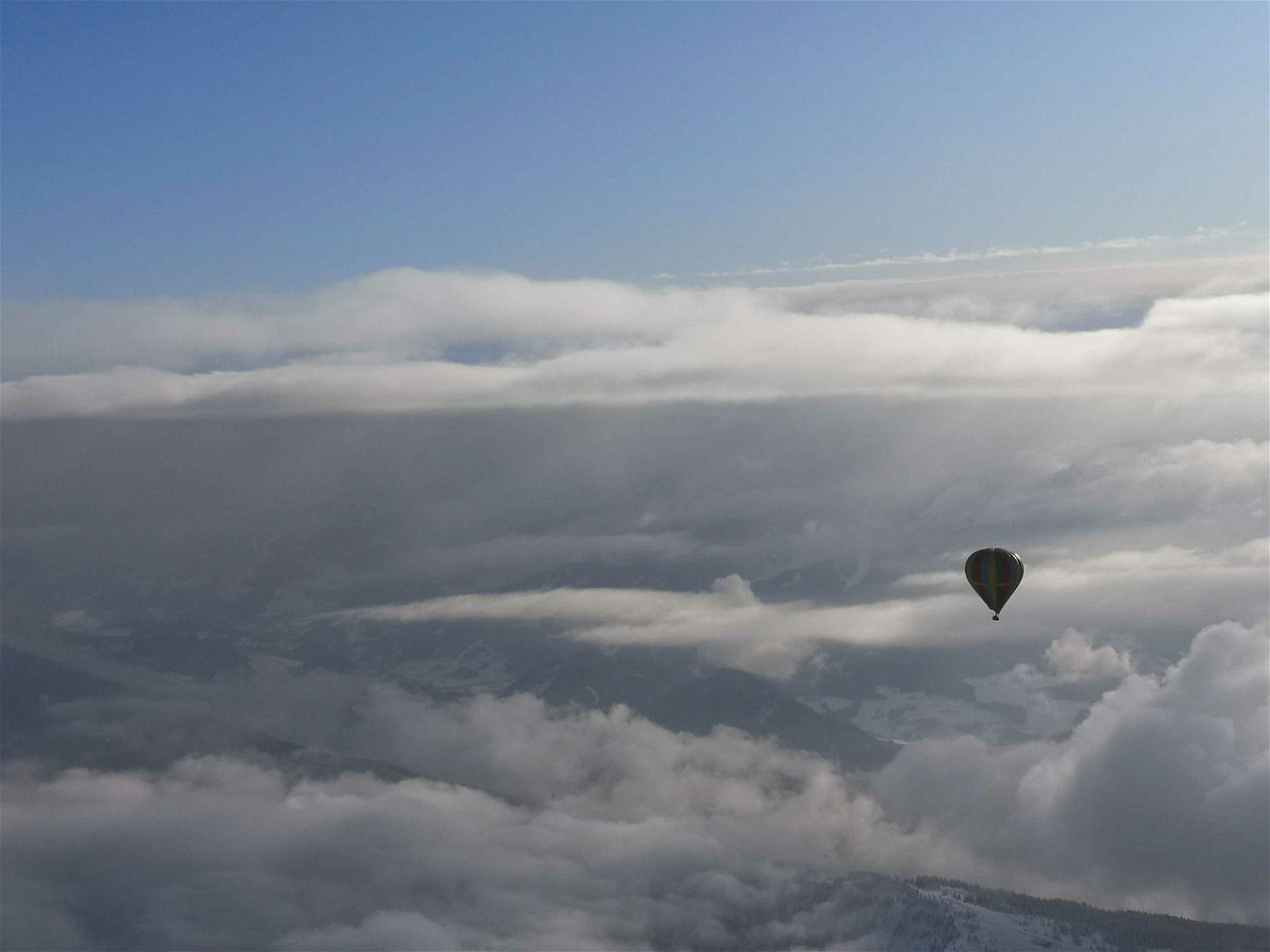 Heißluftballon fahren Österreich