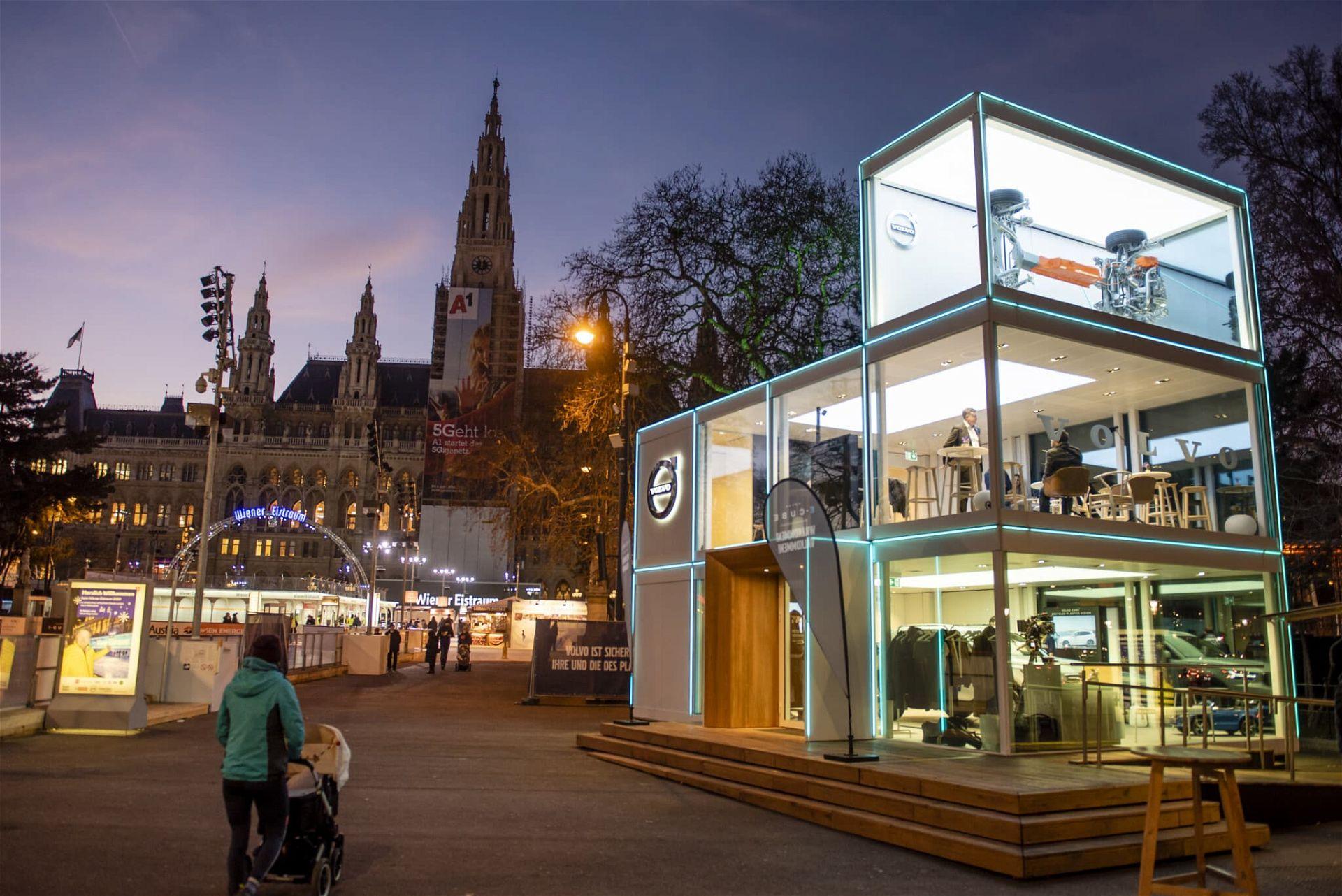 (c) Volvo E-Cube am Wiener Rathausplatz | Zsolt Marton