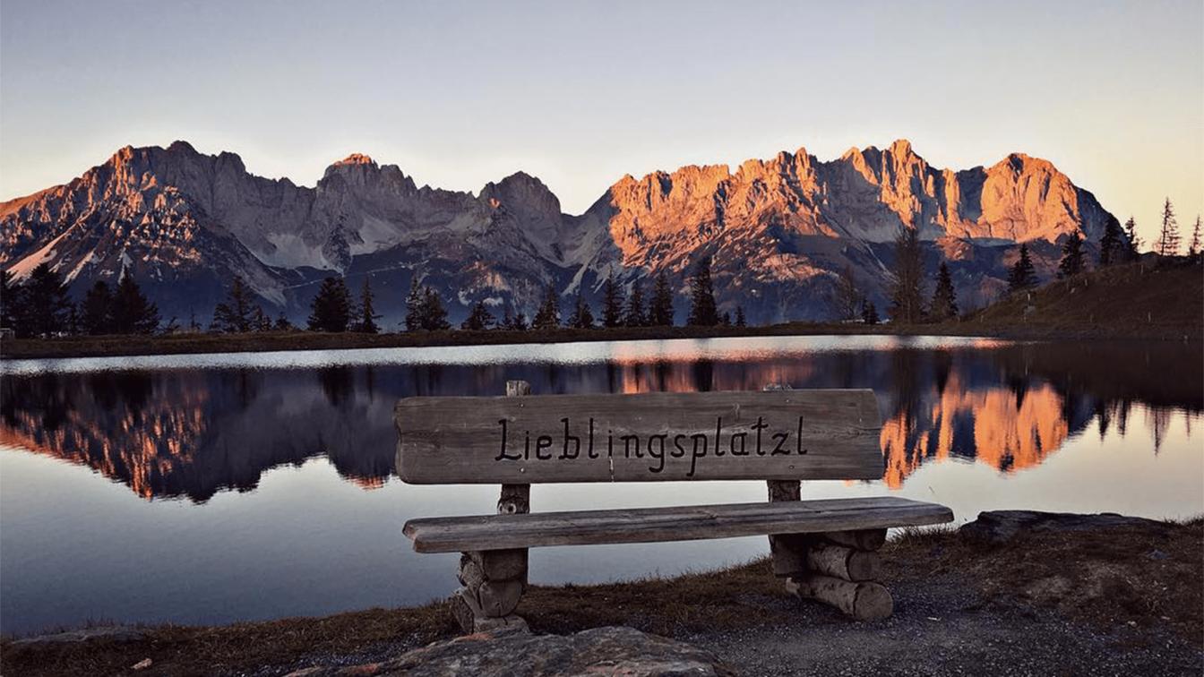 Alpenglühen am Wilden Kaiser