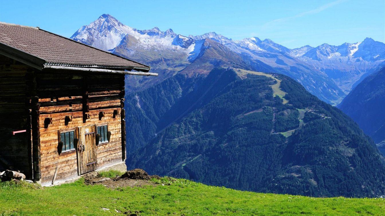 Hütten übernachten Österreich