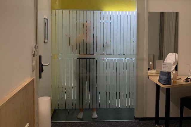 Badezimmer verglast Hotel