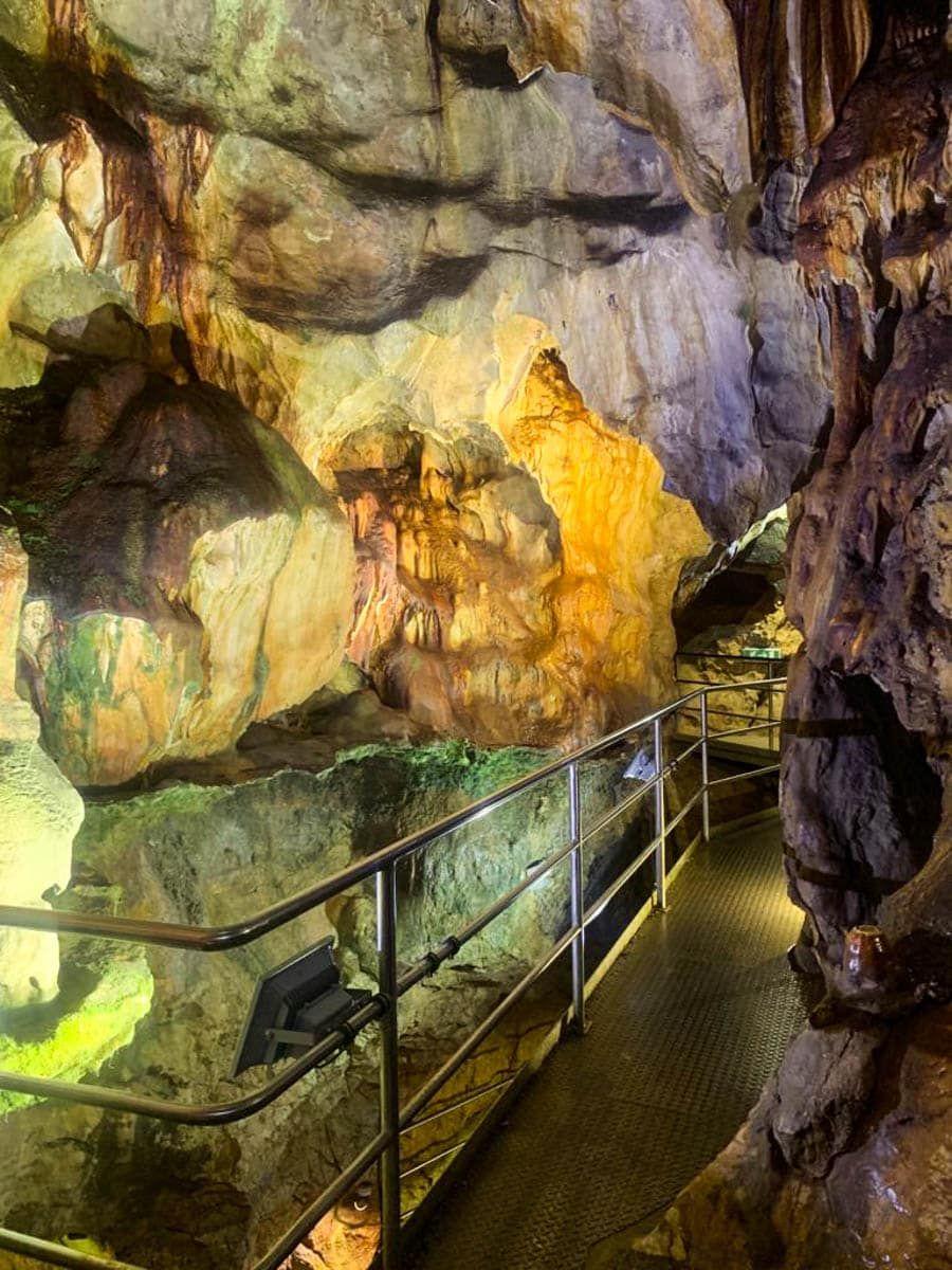 Tropfsteinhöhle Griffen