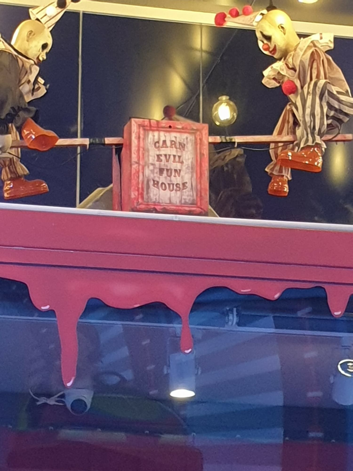 Horror Clown Geisterbahnen Wiener Prater