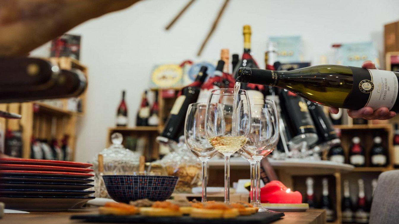 Wein und Italien 7. Bezirk