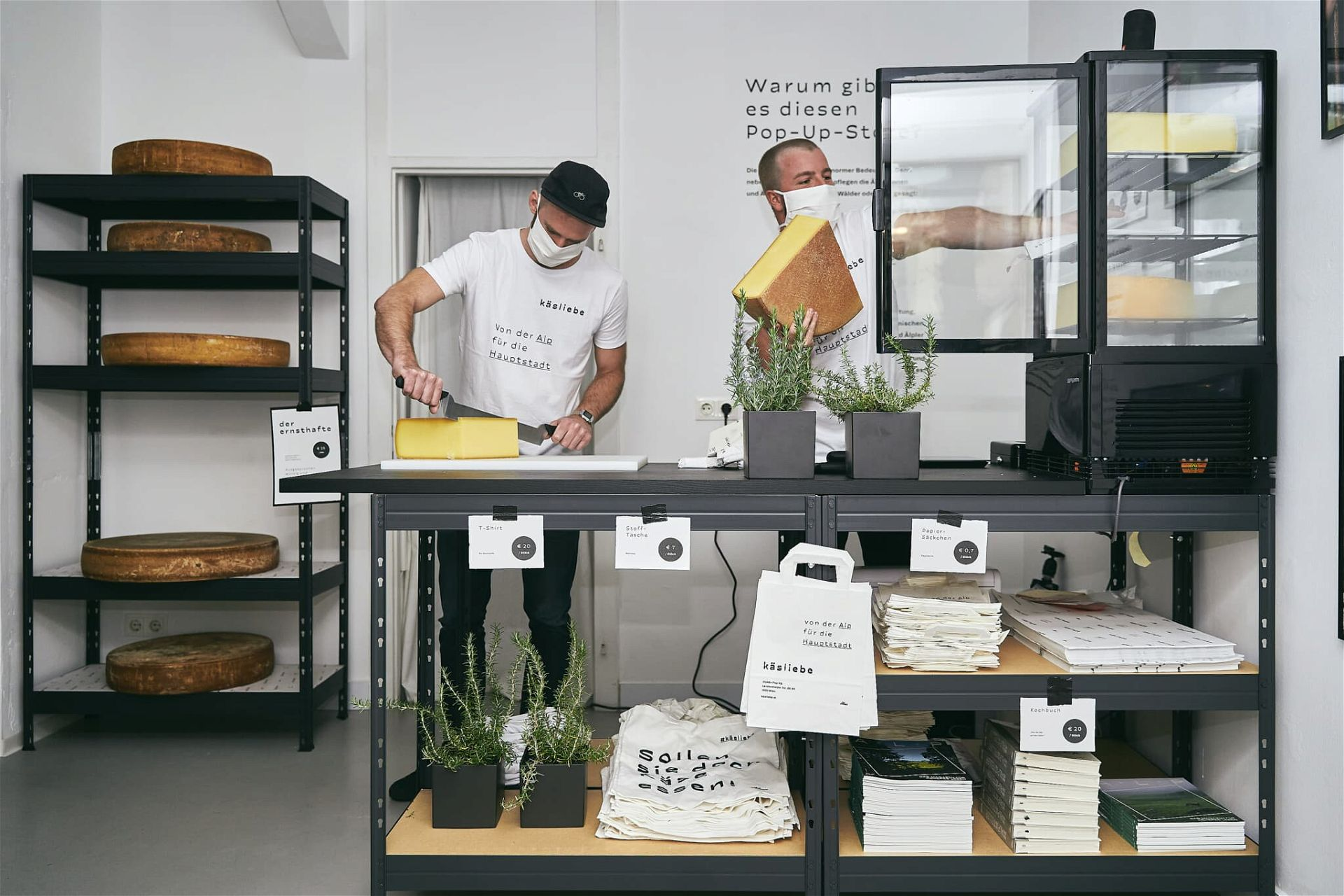 Käsliebe Pop-Up-Store