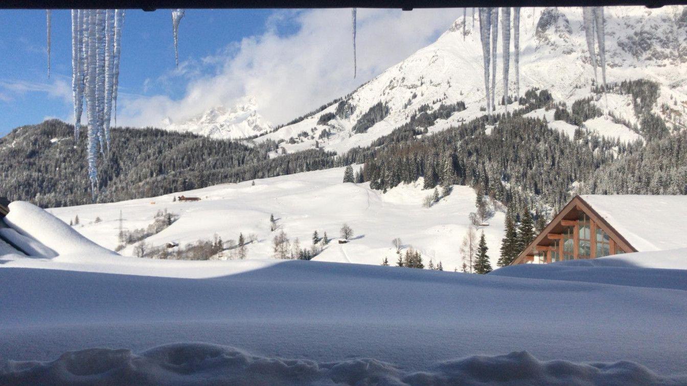 Erster Schnee Wien