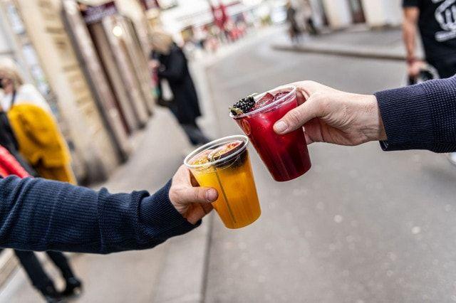 Kleinod Prunkstueck Cocktail Take Away Wien
