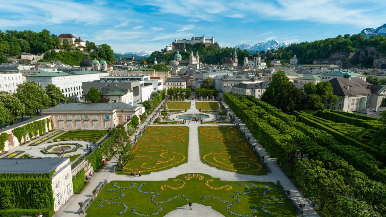 Salzburg Schloss Mirabell