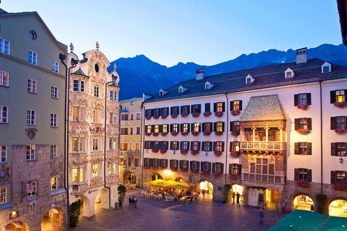 Goldenes Dachl in Innsbruck, Sponsored (c) Innsbruck Tourismus | Christof Lackner | Altstadt Innsbruck
