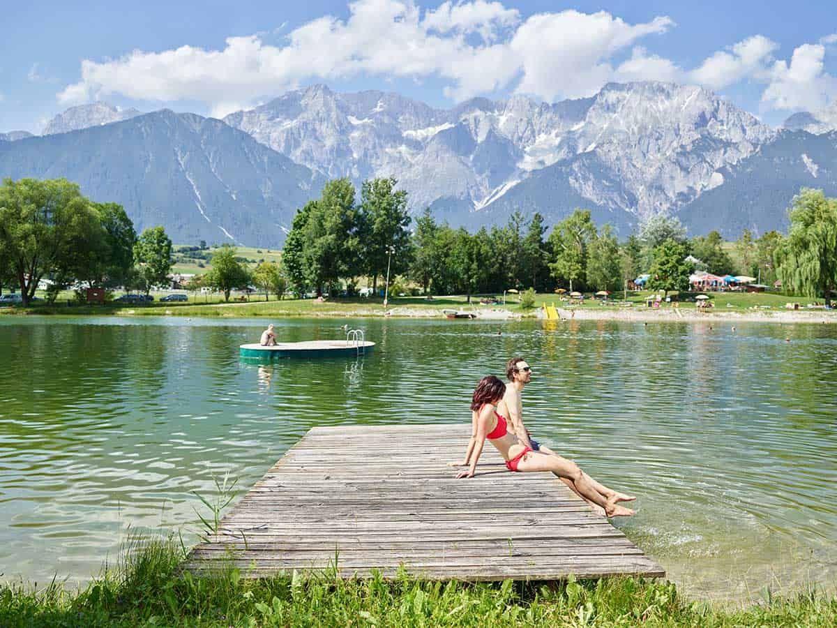 Badespaß in Insbruck, Sponsored (c) Innsbruck Tourismus | Badesee Mieming
