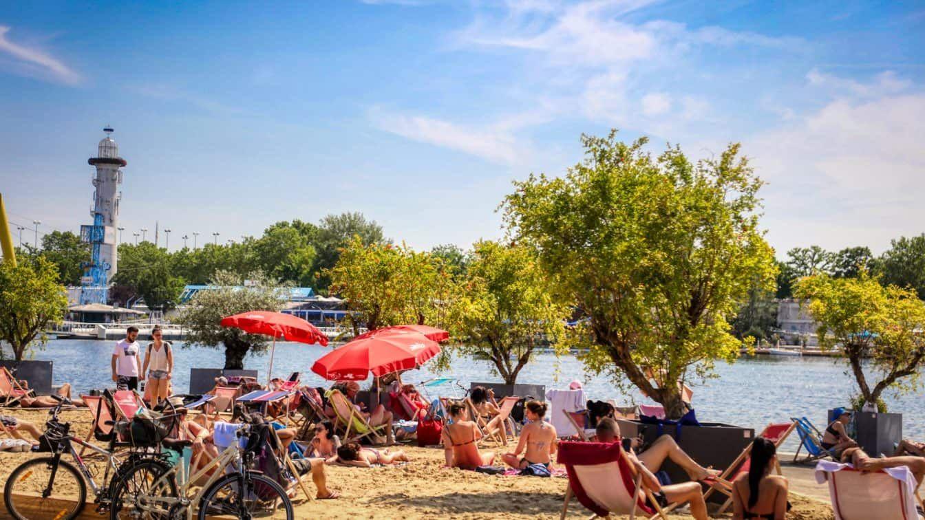 Copa Beach Wien Sommer