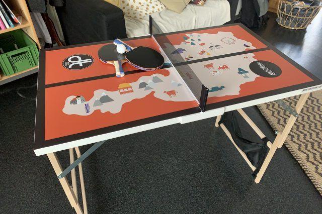Dishtennis Tisch