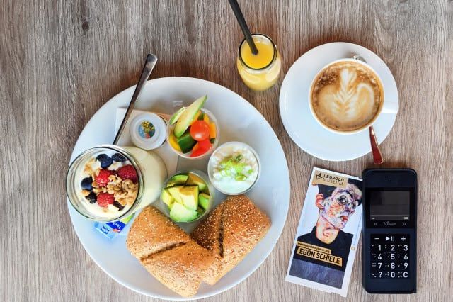 Frühstück Cafe Leopold