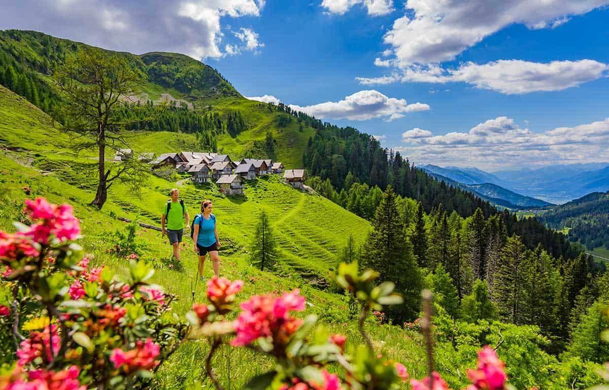 Das Hügelland von Nassfeld erkunden, Sponsored (c) Peter Maier | nassfeld.at