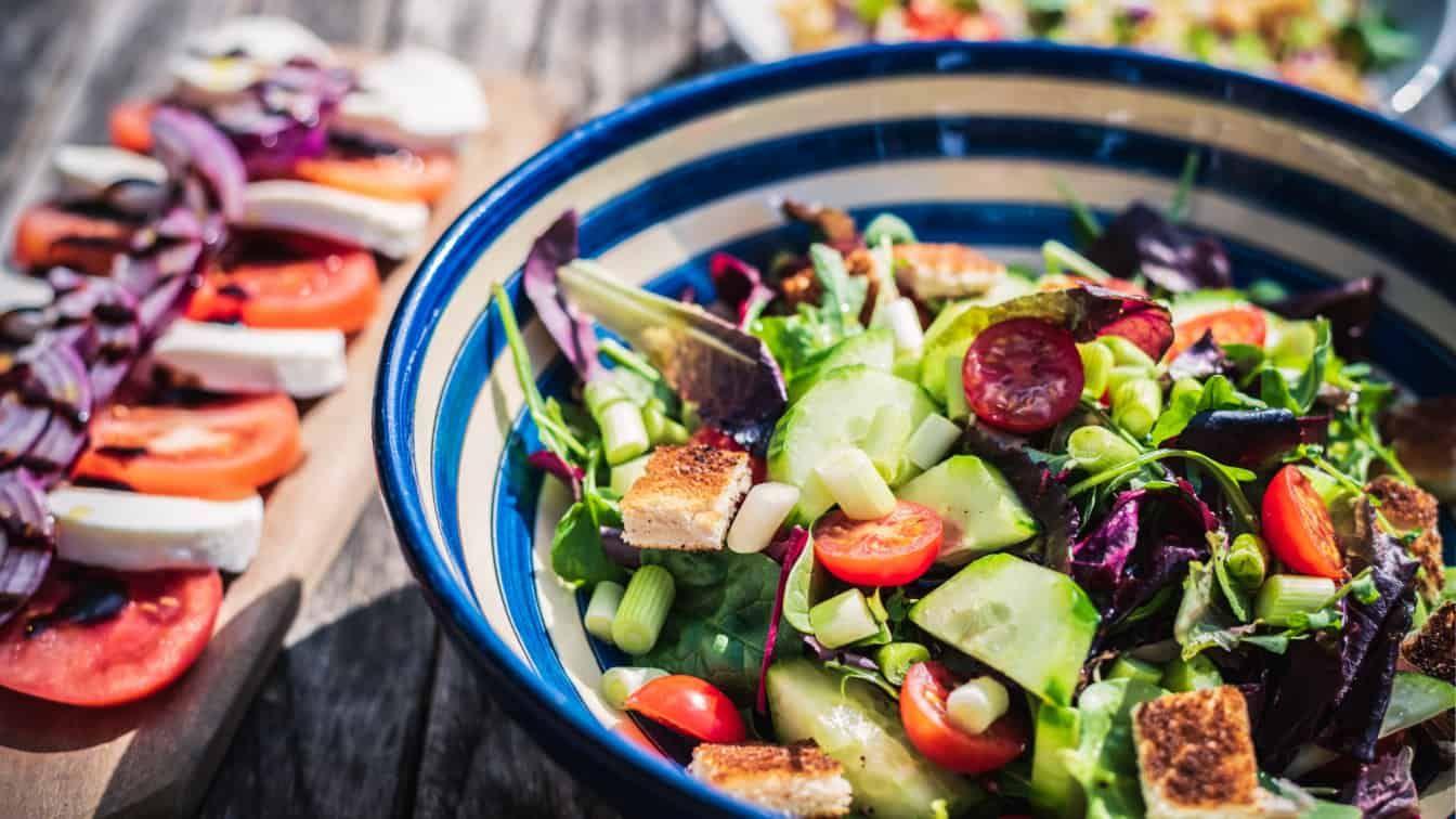 Salat gesundes Essen