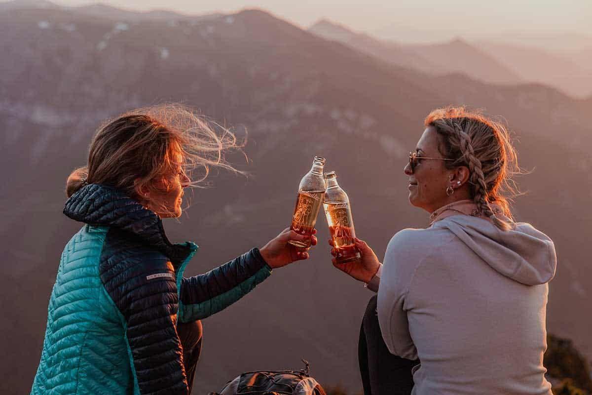 Die Belohnung am Berg mit Almdudler, Sponsored (c) Lisa Schmerold | 1000things