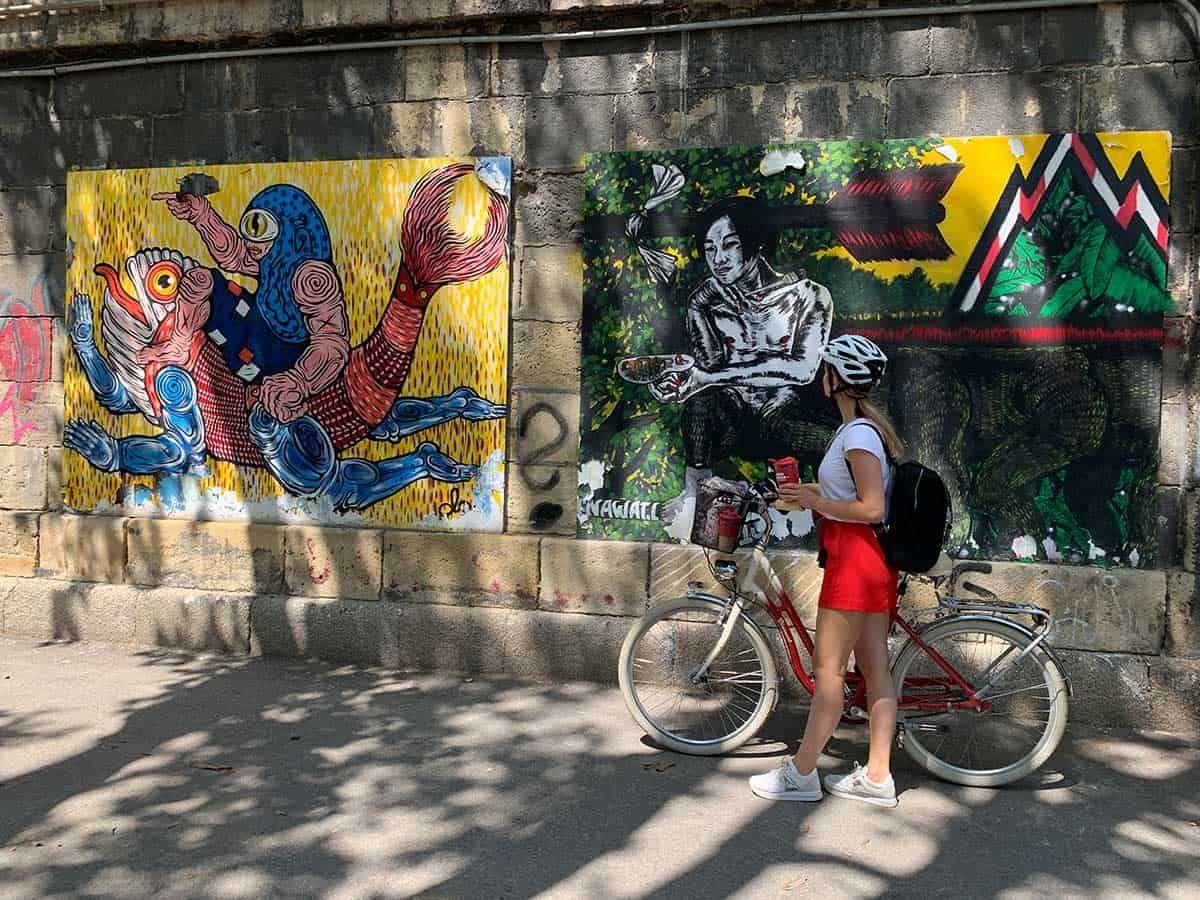 Auf Street-Art-Jagd am Wiener Donaukanal, Sponsored (c) Lisa Oberndorfer | 1000things
