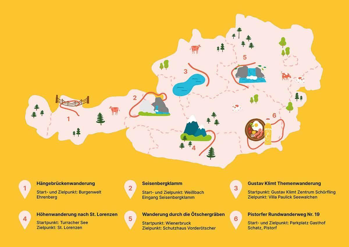 Wanderrouten in Österreich, (c) Sandra Spiegl | 1000things