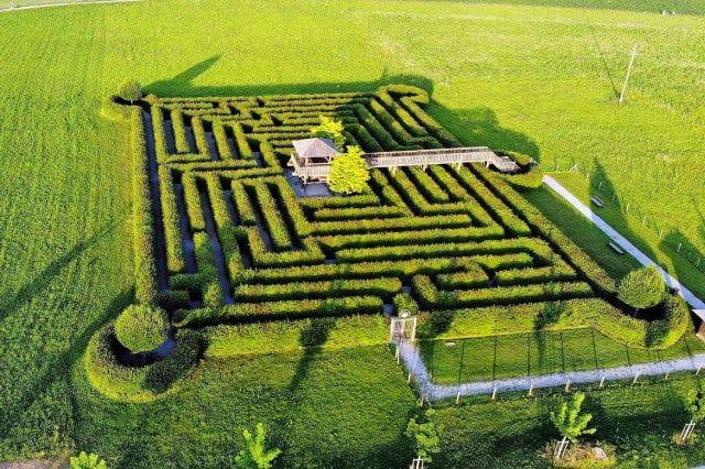 Labyrinth Schloss Rosegg