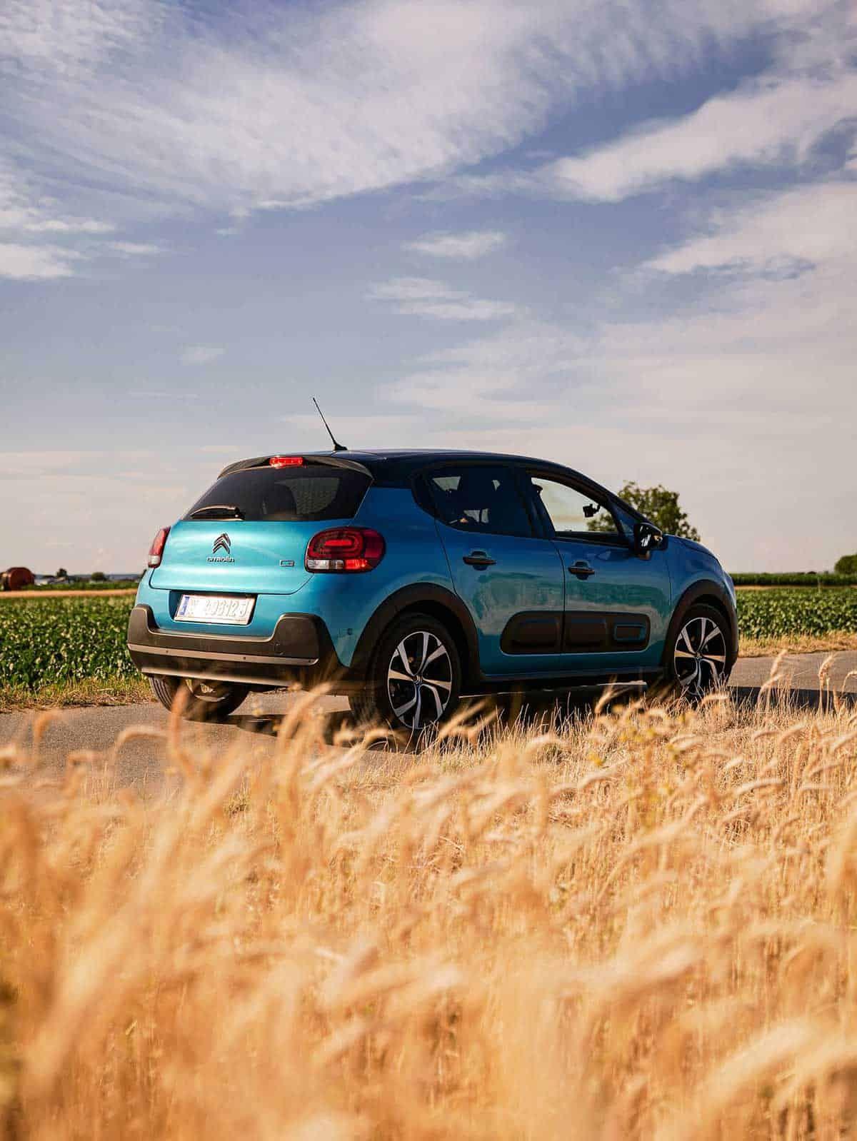 Mit dem Citroën C3 zwischen den weiten Feldern im Burgenland, Sponsored (c) Marino Knöppel   valerino.creations