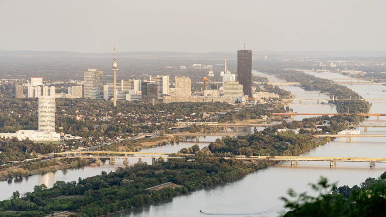 Donauinsel Panorama