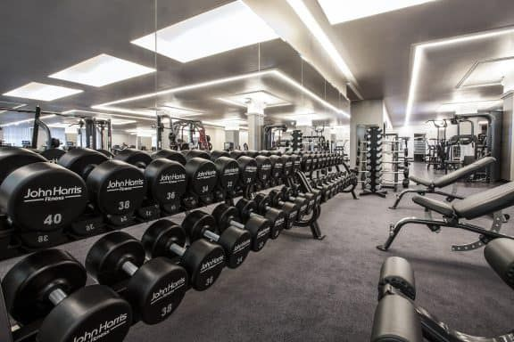 John Harris Fitness: Kraftbereich