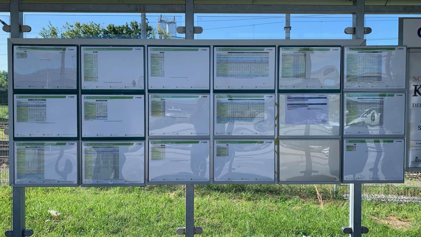 Bushaltestelle Niederösterreich