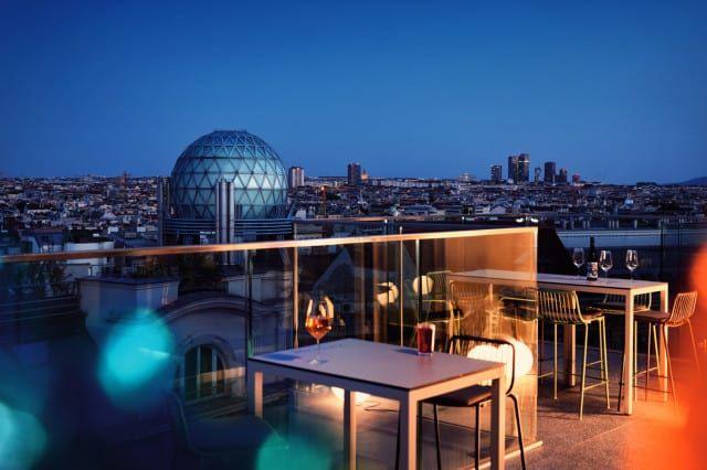 Jaz Hotel Wien Rooftop Bar