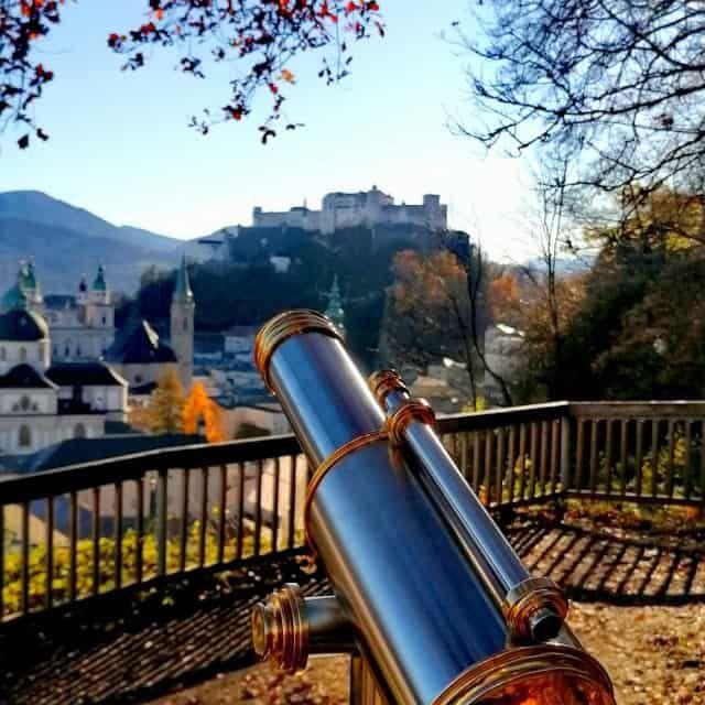 Salzburg Herbst Festung