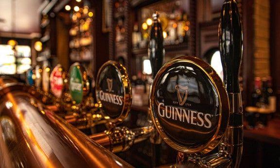Trinity Irish Bar Guinness