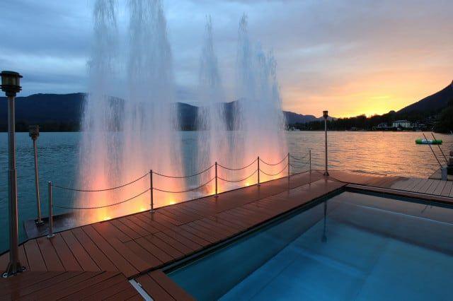 Das Seebad im Hotel Weisses Rössl | (c) Weisses Rössl