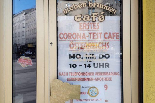 Corona Tests Lokale Wien