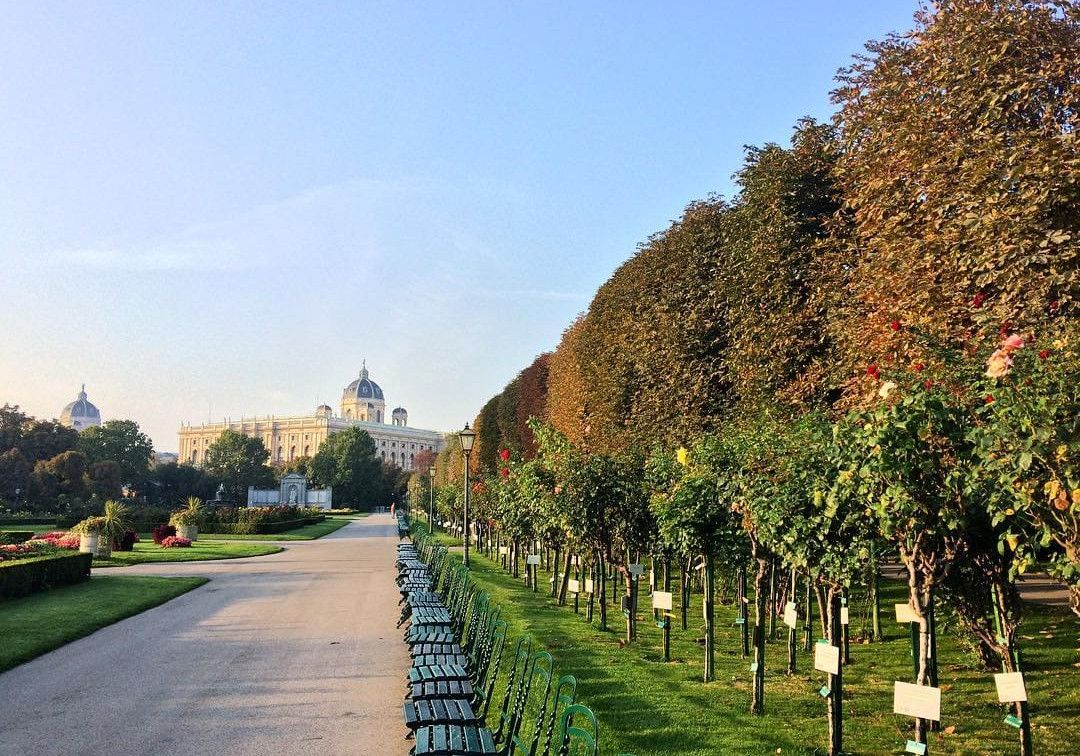Volksgarten Wien Herbst