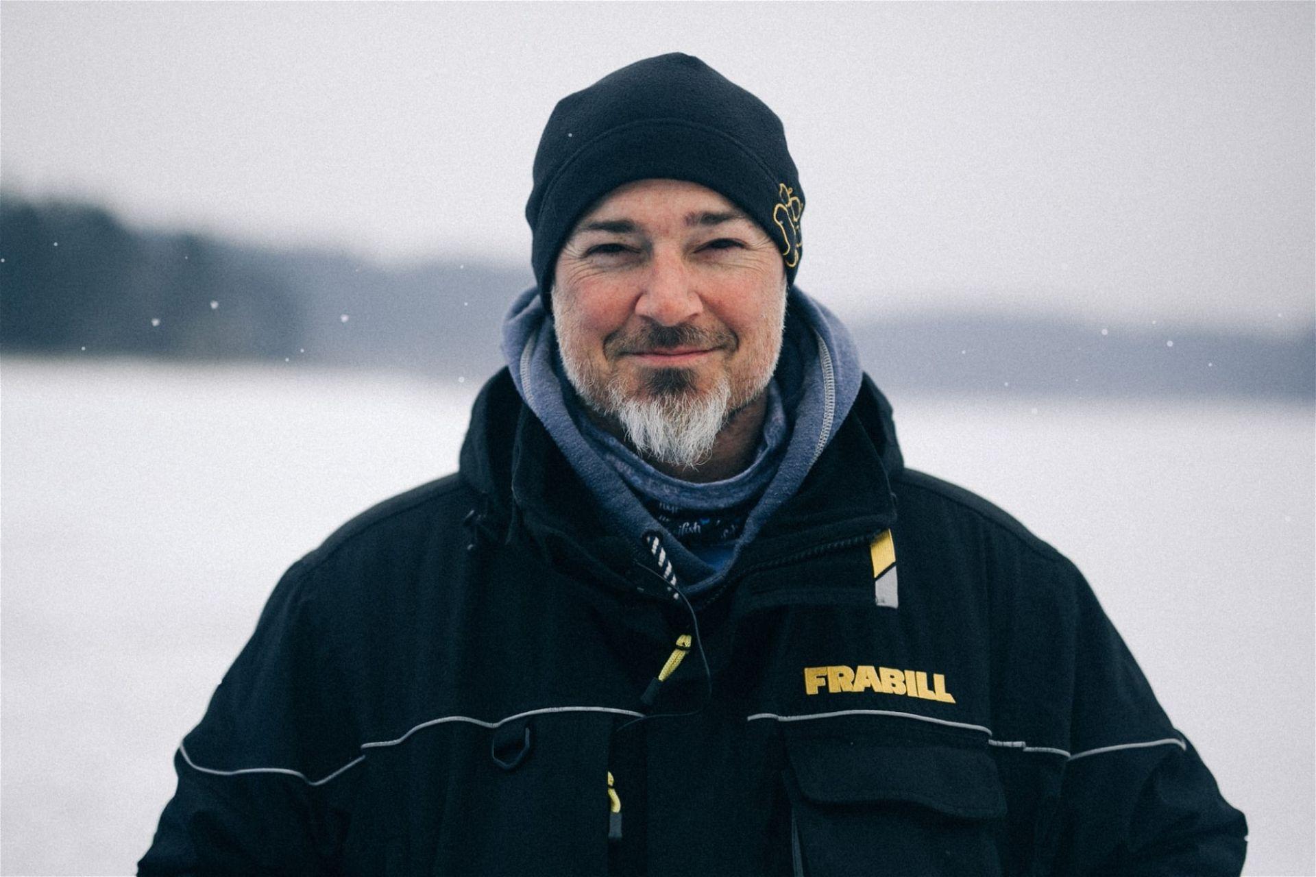 Eisfischen in Österreich: Bernhard Berger