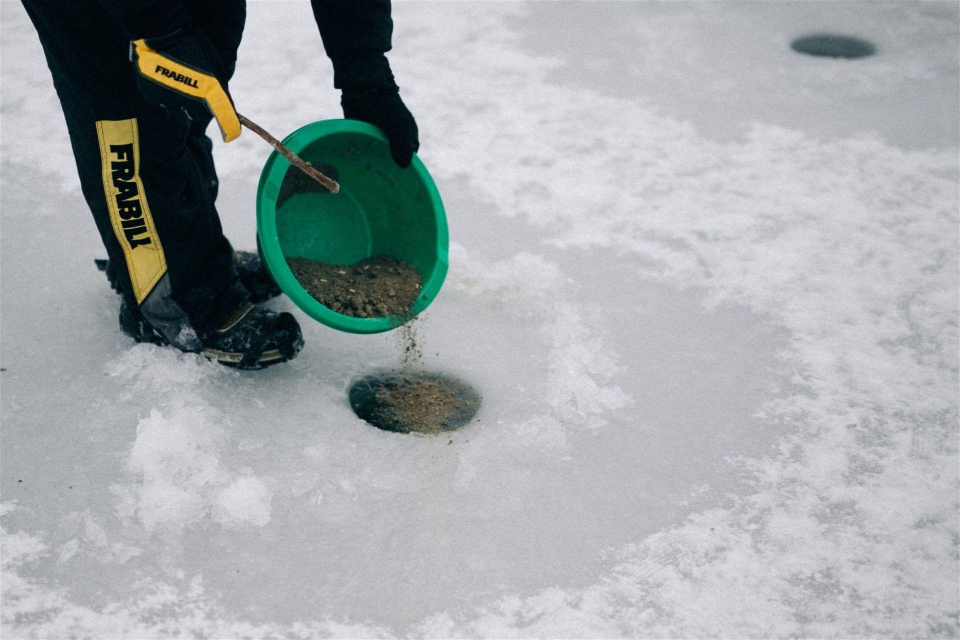 Eisfischen Österreich: Ottensteiner Stausee