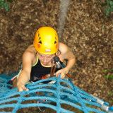 Im WIKI Adventure Park in Graz gibt es Kletterrouten in allen Schwierigkeitsstufen